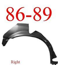 86 89 Honda Accord 4 Door Right Rear Upper Wheel Arch Repair Panel