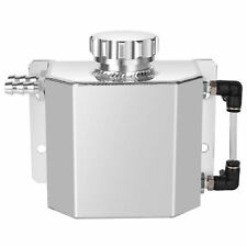 1000ml Aluminum Radiator Coolant Overflow Bottle Tank Reservoir screw-on
