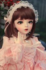 "24"" 1/3 BJD Doll SD Girl Dolls + Free Eyes + Face Makeup + Clothes Full Set Toys"