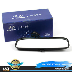 GENUINE REAR View Inside Mirror for 2001-2016 Hyundai Kia OEM 8510126000