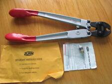 """Zurn Pex Plumbing 3/8"""" Large Copper Crimping Tool QCRT-2T & Crimp Gauge"""