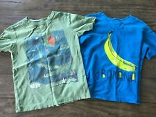 Boys Tea Collection Short Sleeve T Shirts Tees 7 green blue lot