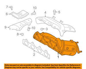 HYUNDAI OEM 12-17 Accent-Exhaust Manifold 285102BEF1