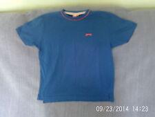 Boys 11-12 Years - Blue with Orange T-Shirt - Slazenger