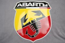 ABARTH Schild Enamel sign Emailschild ECHTE Emaille Emblem 46 x 50 cm
