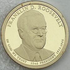 2014-S Franklin D. Roosevelt Encapsulated Presidential $1 Deep Cameo Proof Coin