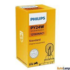 PHILIPS PY24W Vision Halogen Interior Signal 12V 24W PGU20/4 12190NAC1 Single