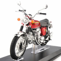 1/12 Honda DREAM CB750 FOUR Red Alloy Collectible Motorcycle Motorbike Model Toy