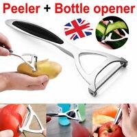 Kitchen Stainless Steel Vegetable Fruit Potato Food Carrot Peeler Slicer Tool UK