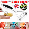 Kitchen Stainless Steel Vegetable Fruit Potato Food Carrot Peeler Slicer Tool UK