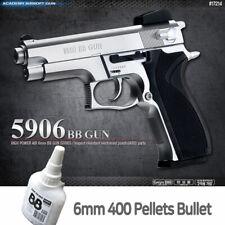 Academy 5906 BB  Pistol Airsoft 6mm Shot Gun + BB 400ea Military Kit # 17214
