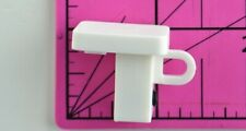 IKEA Vidga L Shaped With Set Pin White Plastic Replacement Part Piece Hardware