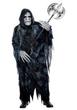 Mens Soul Taker Death Reaper Skeleton Halloween Fancy Dress Costume Adult M L