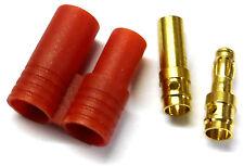 8410 RC compatible 3.5mm oro conector con protector Macho/FEMENINO