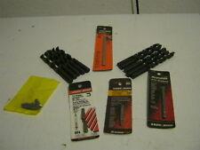 19 Pc. Lot New Tool Accessories - Drill Bits, Screw Bits - DeWalt B&D