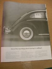 Original 1966 Volkswagen Magazine Ad - One Of The Nice Things About Owning It...