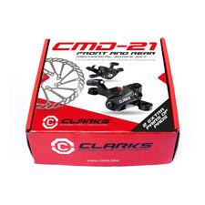 Clarks CMD-21 Front & Rear Mechanical Disc Brake Set 160mm Rotors
