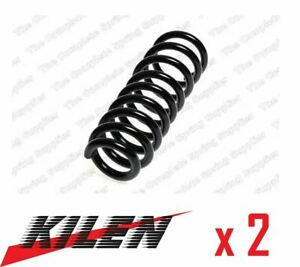 2 x NEW KILEN FRONT AXLE COIL SPRING PAIR SET SPRINGS GENUINE OE QUALITY 17215