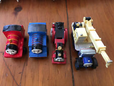 Thomas & Friends Lot 4 Train Kelly The Crane Buster Mini Thomas Red Wooden