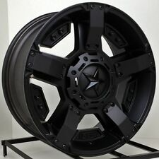 20 Inch Black Wheels Rims Ford Truck F 250 350 F250 F350 Super Duty 8x170 Lug
