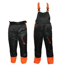 Chainsaw Safety Forestry Trousers Or Bib And Brace Ideal For Stihl Users
