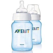 Philips Avent Blue PP Bottles SCF685/27 Twin 260ml / 9oz - Warehouse Clearance