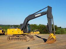 2004 John Deere 160C LC Hydraulic Excavator Tracked Hoe Diesel Tractor w/ Thumb