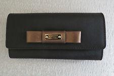 Badgley Mischka Sasha Brown Saffiano Leather Wallet �?NWT - $185