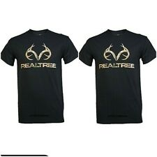 Sun River Clothing Green T-Shirt Buck M L XXL REALTREE Hunting  Deer Antlers
