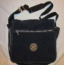 KIPLING MADHOUSE dark navy flap closure expandable travel lap top messenger bag