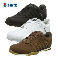 K-Swiss Mens Classic Low Top Arvee 1.5 Smooth Leather Iconic Trainers Sneakers