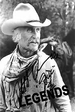 "LONESOME DOVE  Robert Duval Autographed Copy B & W 8""x10"" Reprint"