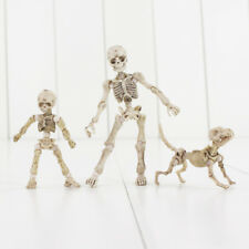Halloween Pose Stay Skeleton Figure Party Prop  Dog  PVC Joint Loose Figure