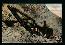 More details for panama canal construction bas obispo steam shovel in rock cut 1912  ppc