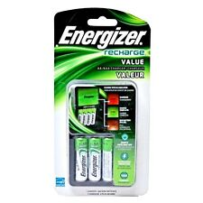 Energizer Recharge Value Charger (Includes 4 AA NiMH Batteries)