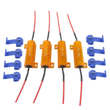 JABINCO 4Pcs 6-ohm Load resistors Fix LED Bulb Fast Hyper Flash Turn Signal