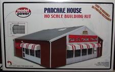 HO Gauge-Model Power-204-Model RR Bldg Kit-Pancake House-Molded in 3 Colors