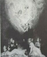 1998 w 21 NORMAN LINDSAY ETCHING PLATES free EXPRESS shipping w/wide RARE