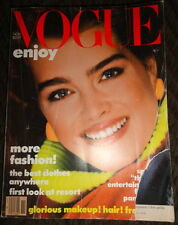 Vintage Vogue 11/1983 David Bowie, Kim Alexis, Horst, Carol Alt, Andie MacDowell