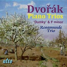 CD DVORAK PIANO TRIOS DUMKY OP.90 & F MINOR OP.65 ROSAMUNDE TRIO