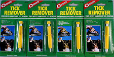 4 PK TICK REMOVERS -ENDS MESSY DANGEROUS TICK REMOVAL, EASY TO USE, DIRECTIONS