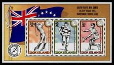 Cook Islands 883 MNH Sports, Tennis, Golf, Rugby, Flag, South Pacific Games