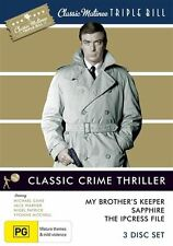Classic Matinee Triple Bill - Classic Crime Thriller (DVD, 2010, 3-Disc Set)