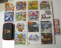Nintendo 3DS Complete in Box CIB Games Collection: Pokemon, Zelda, and more!