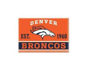 Denver Broncos Photo Magnet with Logo, NFL Football, Team Gründungsjahr