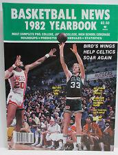 VINTAGE - 1982 BASKETBALL NEWS YEARBOOK - LARRY BIRD