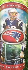 """New England Patriots """"One Team – One Goal"""" TechniMark 32 Ounce Cup Made In USA!"""