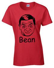 Mr Bean Mujer Camiseta S-2XL Retro Graciosa