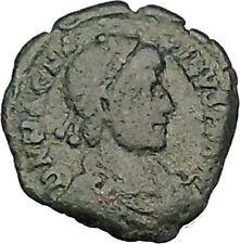 Magnus Maximus 383AD Authentic Ancient Roman Coin Military camp gate  i53265