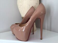 Christian Louboutin Highness Nude Patent 39